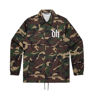 'Pure Evil' Camo Coach Jacket