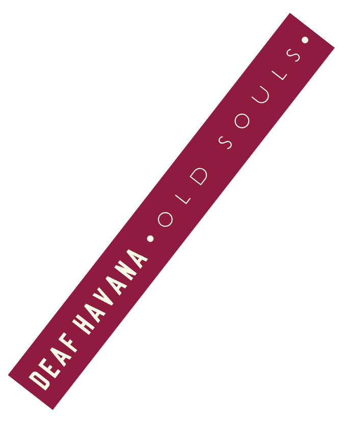 'Old Souls' Burgundy Wristband