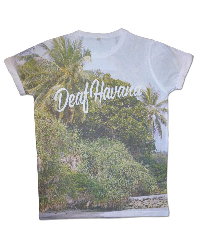 'Palm Trees Allover' Mens T-Shirt
