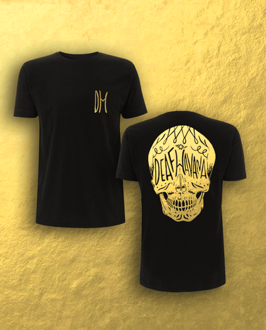 'Skull' Limited Edition Black & Gold Foil T-Shirt - SOLD OUT