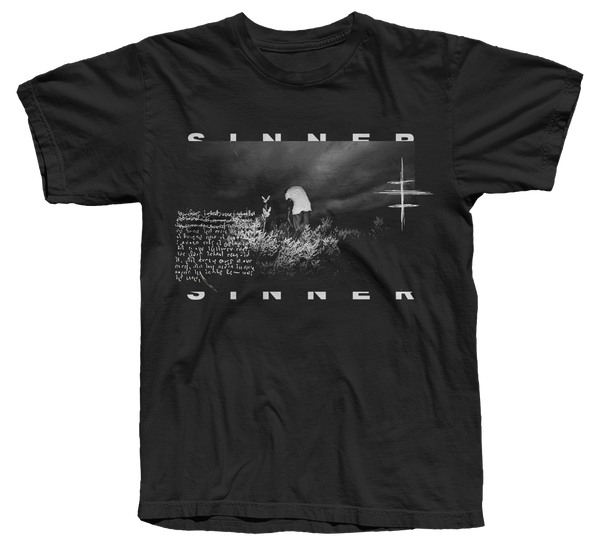 Sinner Tour 2019 Black T-Shirt