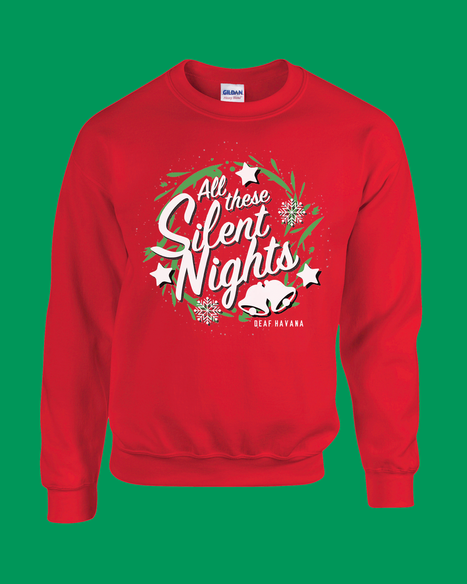 'All These Silent Nights' Christmas Jumper