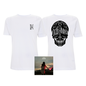 All These Countless Nights Standard CD + White Skull T-Shirt Bundle