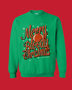 'Merry Bloody Christmas' Christmas Jumper