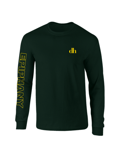 'Epiphany' Longsleeve T-Shirt (Forest Green)