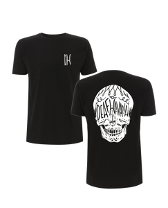 'Skull' Mens Black T-Shirt