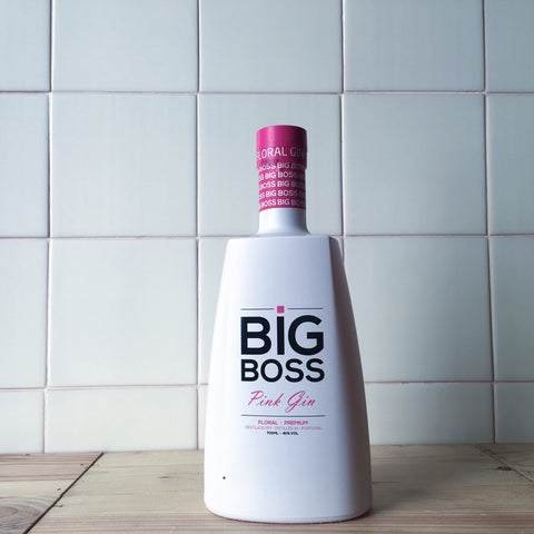 Gin Big Boss Pink - Mercearia do Vinho