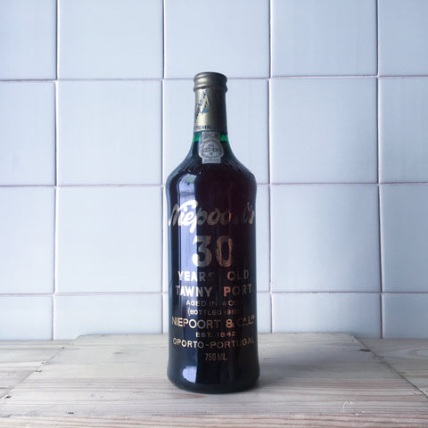 Niepoort Porto 30 Years Old Tawny Douro Bottled in 1985 - Portuguese Wine - porto wine