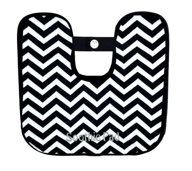 Black & White Chevron Soothie Pad