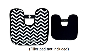 Black & White Chevron Soothie Sleeve