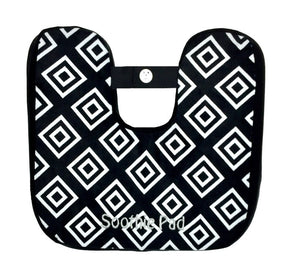 Black & White Diamond Soothie Pad