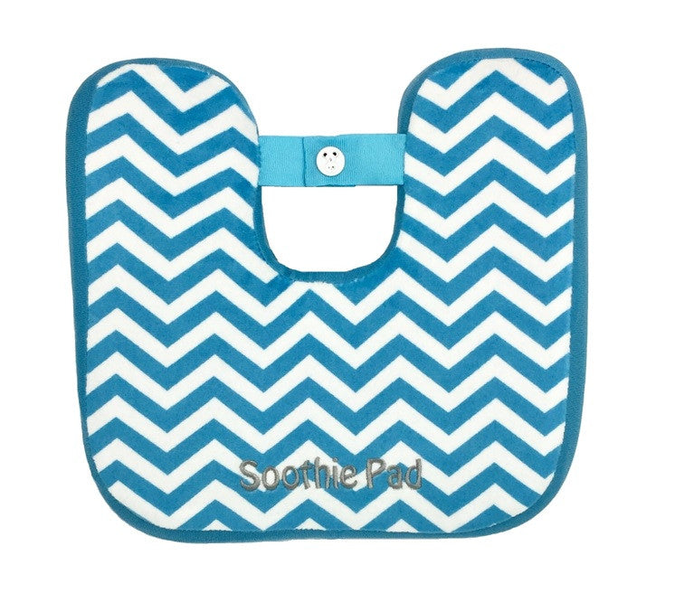 Blue & White Chevron Soothie Pad