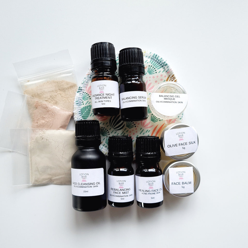 Skincare tester pack (COMBINATION SKIN)