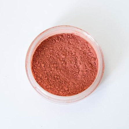 clay blush dusky rose