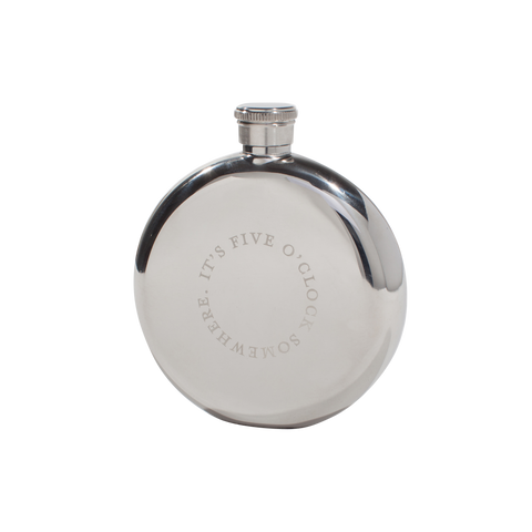 Hip Flasks - Five O'Clock, 3oz.