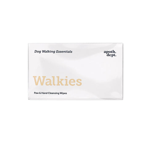 Walkies - Dog Walking Essentials Wipes