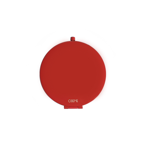 Compact Mirror - Red