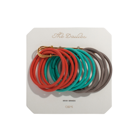 Hair Bands - Red Variety