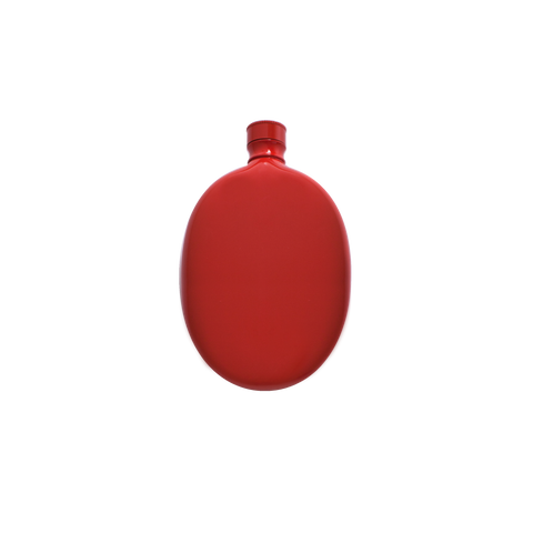 Oval Flask - Red