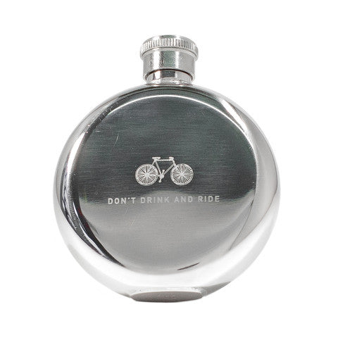 Hip Flasks - Don't Drink & Ride, 3oz.