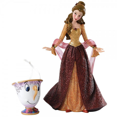 Beauty & The Beast Christmas Belle Figurine | Bear Bottom