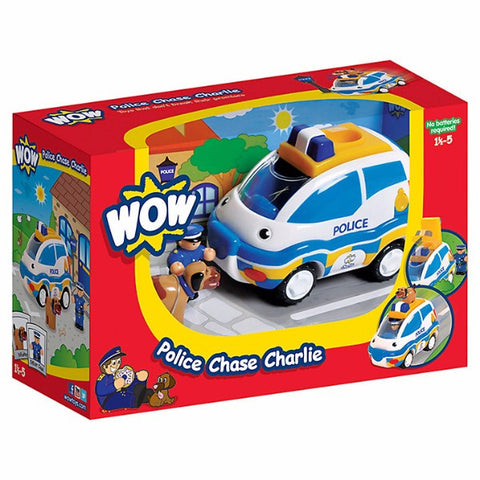 WOW Toys Police Chase Charlie | Bear Bottom Toys & Gifts | Durham