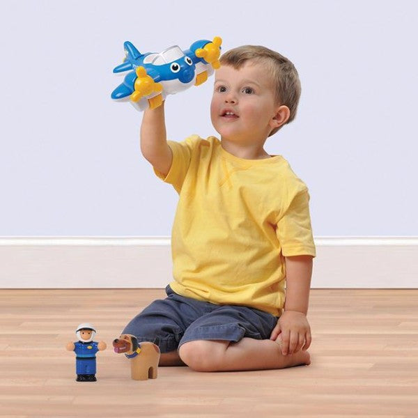 WOW Toys Police Plane Pete Children's Toy | Bear Bottom | Durham