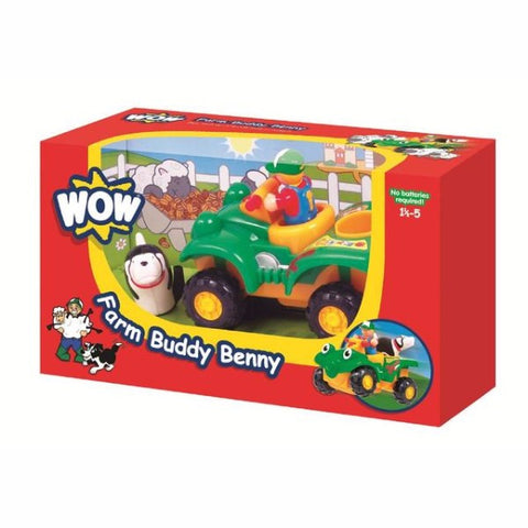 WOW Toys Farm Buddy Benny | Bear Bottom Toys & Gifts | Durham