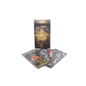 Alchemy Tarot Cards Beautifully Detailed Alchemy Gothic Tarot Deck