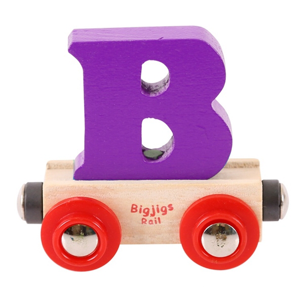 Big Jigs Toys Rail Name Letters: A-Z | Bear Bottom | Durham