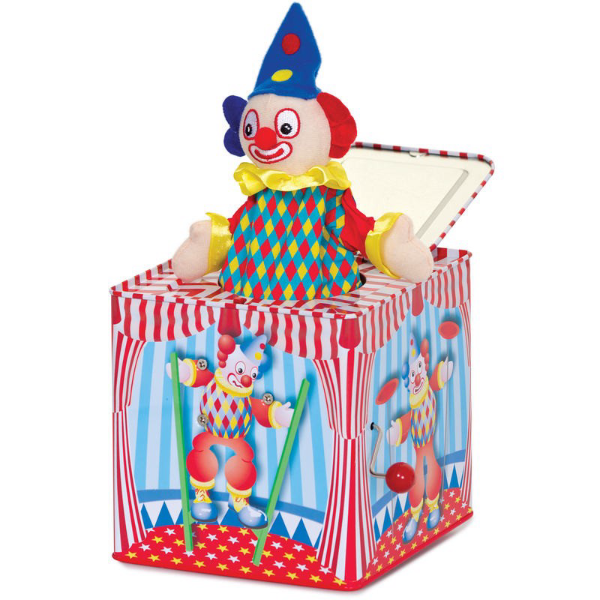 Clown Jack-in-the-Box | Bear Bottom