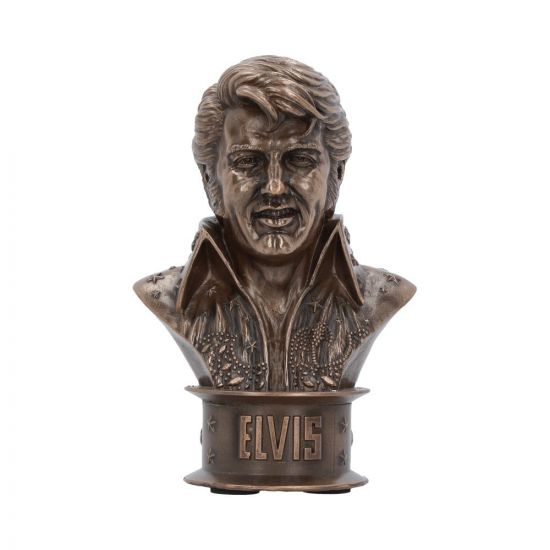 Elvis Bust (Small) 18cm Elvis Presley Figurine Elvisly Yours Bust Ornament