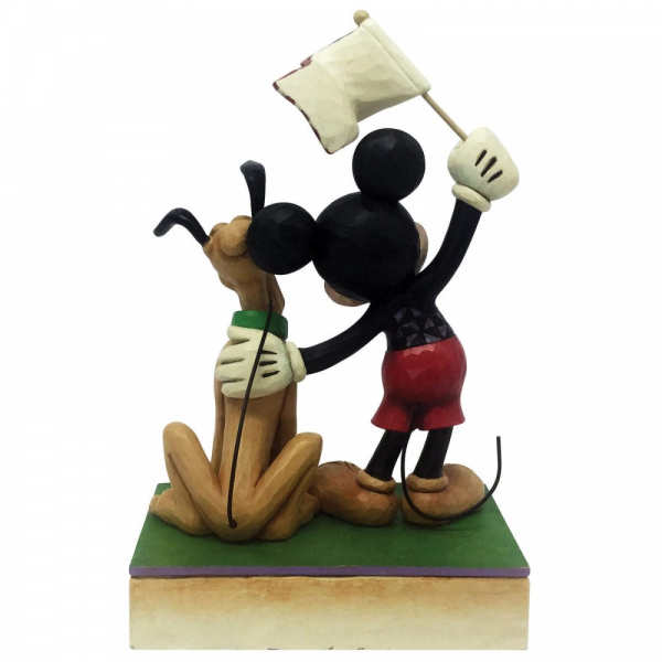 A Banner Day Mickey and Pluto Patriotic