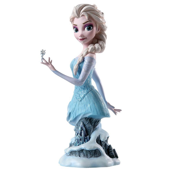 Collectible Disney Elsa Frozen Bust | Bear Bottom