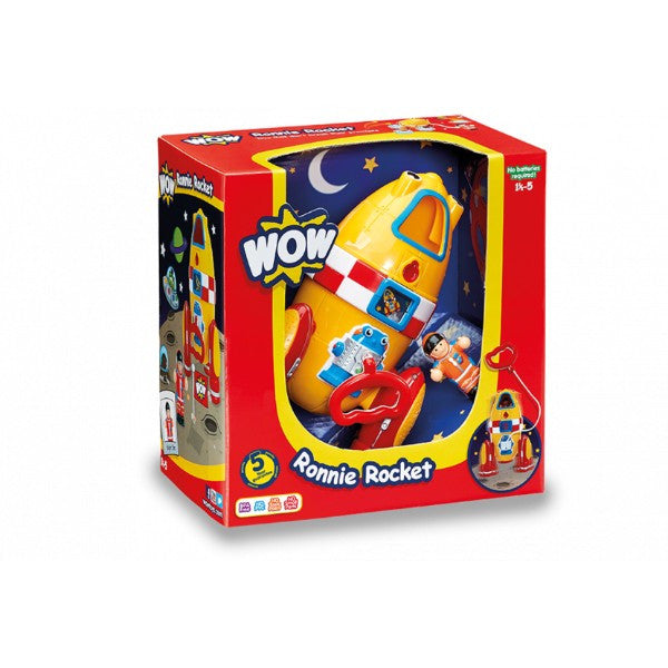 WOW Toys Ronnie Rocket | Bear Bottom Toys & Gifts | Durham