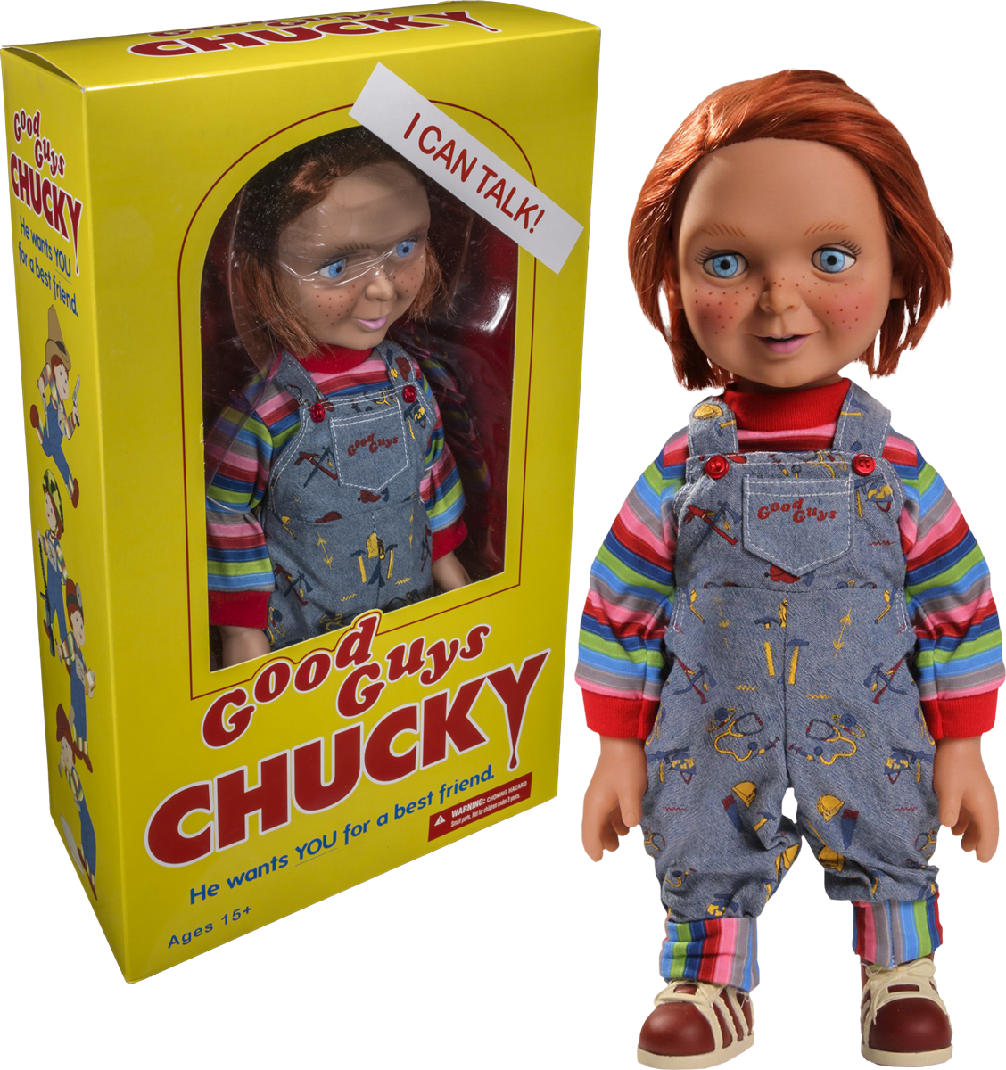 Chucky good guy 1/4 scale talking figure
