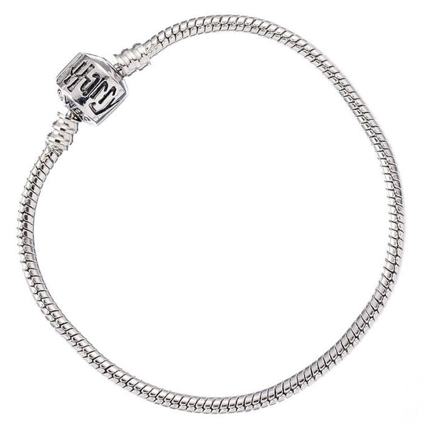 Harry Potter Silver Plated Bracelet for Slider Charms 19cm