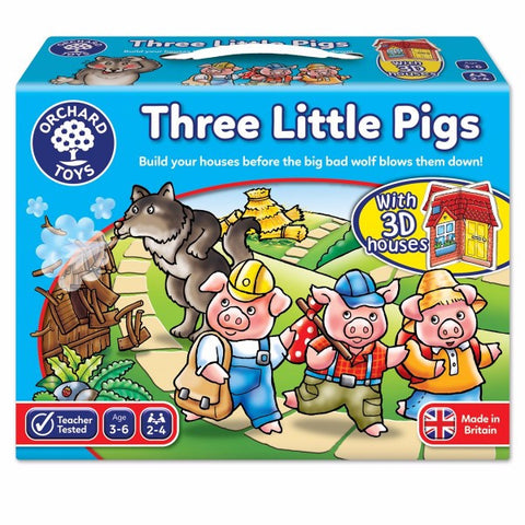 Three Little Pigs Activity Game | Bear Bottom