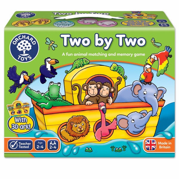 Two by Two Noah's Ark Children's Game | Bear Bottom