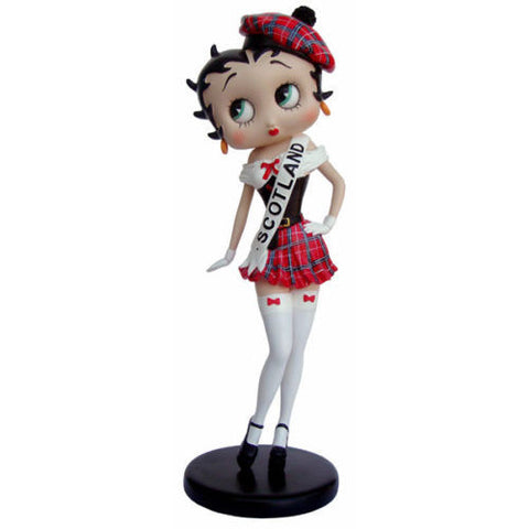 Collectible Betty Boop 'Scotland' Figurine | Bear Bottom