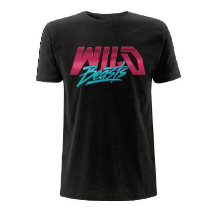 'Pink Logo' Black T-Shirt