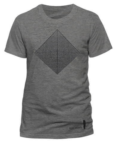 'Smother' Mens Dark Heather Grey T-Shirt