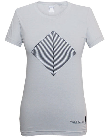 'Smother' Ladies Grey T-Shirt