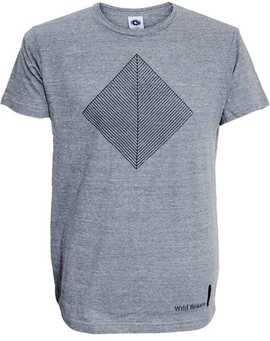 'Smother' Mens Heather Grey T-Shirt