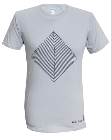 'Smother' Mens Grey T-Shirt