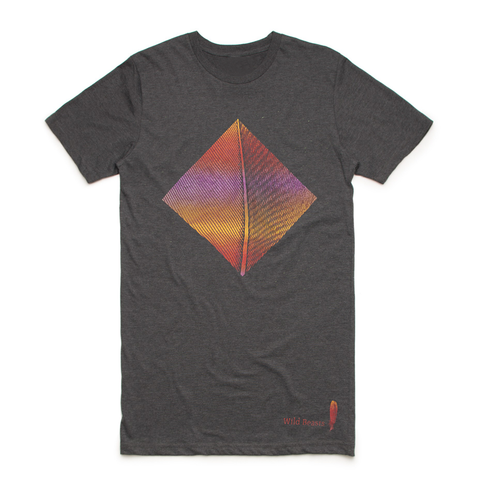'Smother colour' Dark Grey T-Shirt