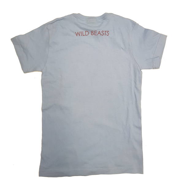 'Two Dancers' Light Blue Youth T-Shirt