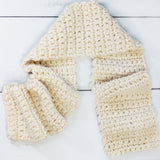 Beginner Crochet Kit - Easy Crochet Scarf