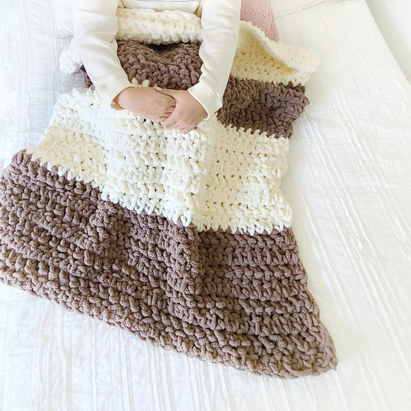 Weighted Crochet Blanket PDF Crochet Pattern - Digital Download