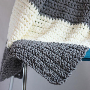Granite Blanket PDF Crochet Pattern - Digital Download